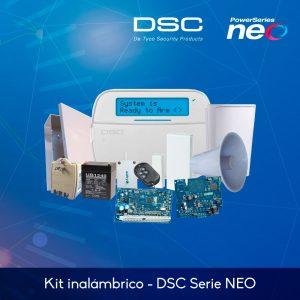 Kit básico de alarma inalámbrica – DSC Serie NEO