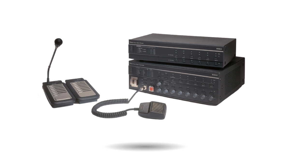 Audio evacuación y telefonía de emergencia
